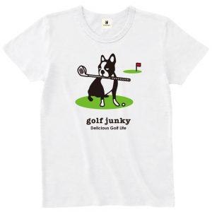 golf Junky 半袖TEE (ホワイト)