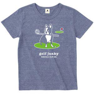 golf Junky 半袖TEE (ヘザーネイビー)
