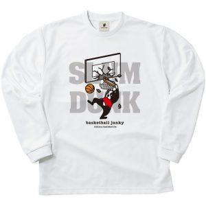SLAM+5 ロングDryTEE (ホワイト)