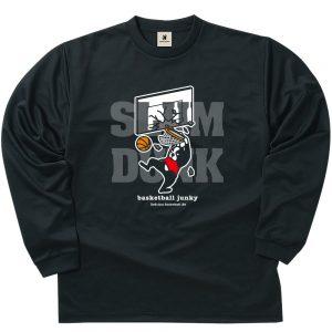 SLAM+5 ロングDryTEE (ブラック)