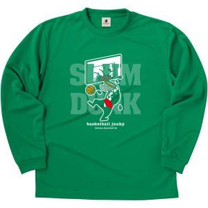 SLAM+5 ロングDryTEE (グリーン)