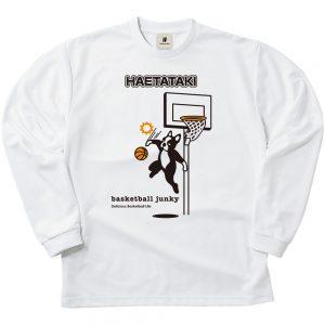 HAETATAKI ロングDryTEE (ホワイト)