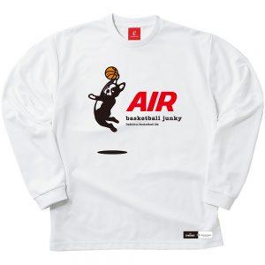 AIR ロングDryTEE (ホワイト)