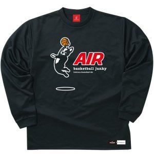 AIR ロングDryTEE (ブラック)
