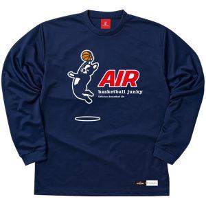 AIR ロングDryTEE (ネイビー)