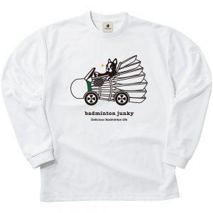 バドカー+3 ロングDryTEE (ホワイト)